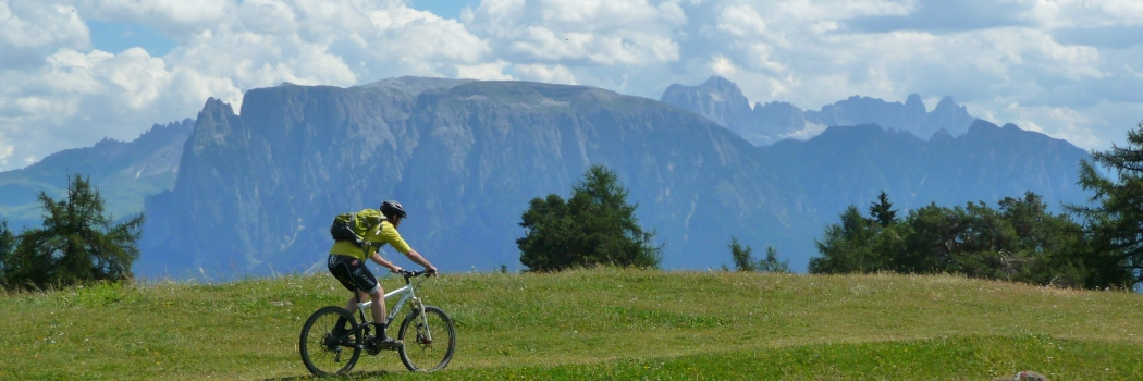 Bikehotel S�dtirol - Mountainbike in S�dtirol am Ritten