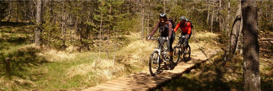Mountainbike Angebot am Ritten in Südtirol